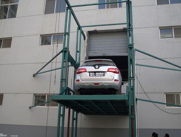 Vertical car lift