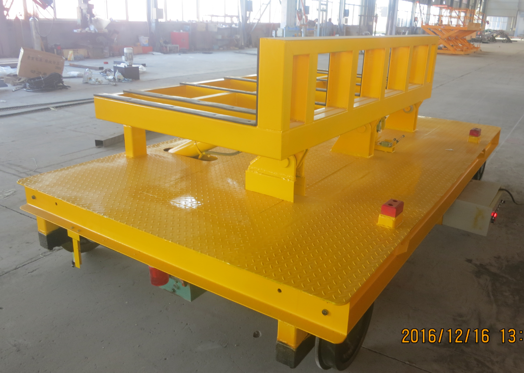 Cable drum transfer cart
