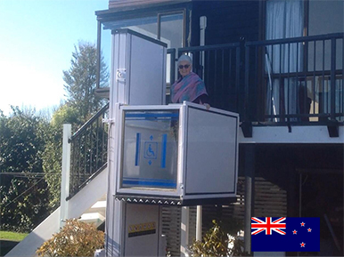 Home wheelchair lift in New Zealand